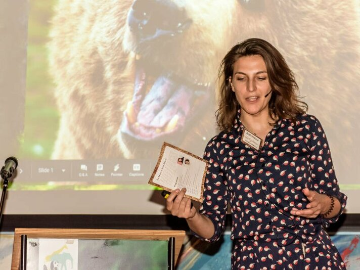 Winnaar Bears in Mind Award 2019
